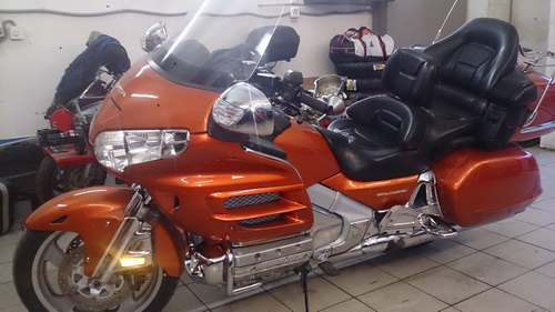 HONDA GL 1800 GOLDWING - весеннее ТО